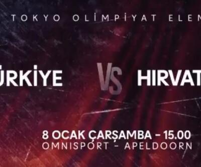 Hırvatistan Türkiye voleybol maçı canlı izle... Filenin Sultanları sahada!