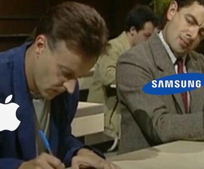 Samsung, Apple'ın yıllardır kullandığı logoları kullandı