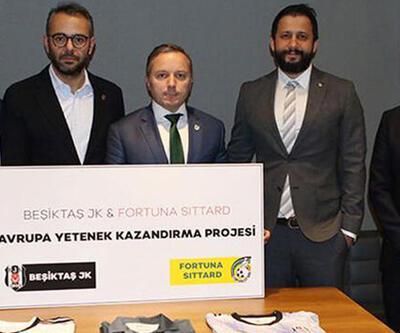 Beşiktaş ve Fortuna Sittard iş birliği anlaşması imzaladı