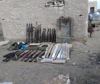 Barış Pınarı Harekatı bölgesinde tünel ve mühimmatlar ele geçirildi