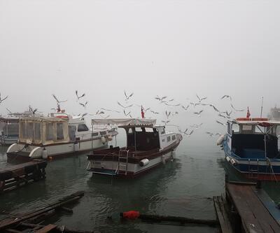 İstanbul'dan kartpostallık sis manzaraları
