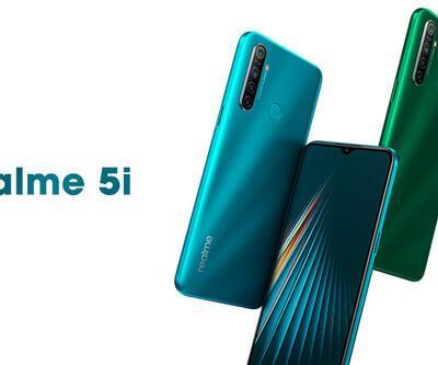 Realme'nin orta segment yeni telefonu : Realme 5i