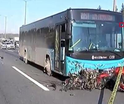 Ümraniye TEM Otoyolu'nda feci kaza: 2 ölü