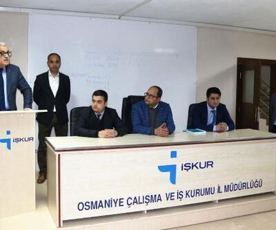 Osmaniye İŞKUR'da engelli personel seçmesi yapıldı