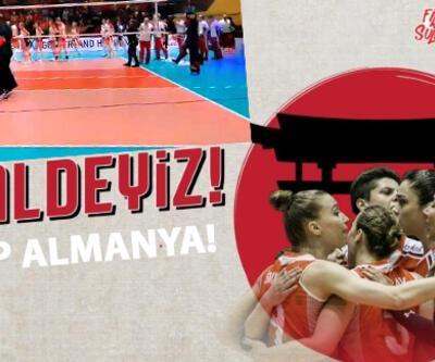 Türkiye Almanya voleybol final maçı hangi kanalda? Filenin Sultanları finalde!