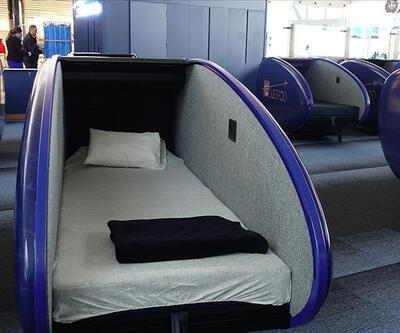 İstanbul Havalimanı'nda uyku kabini hizmeti