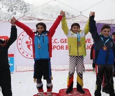 Alp disiplini yarışmasında  HADAK sporcusu Ali Çavuş il birincisi oldu
