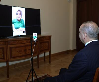 Cumhurbaşkanı Erdoğan, Ümmü Gülsüm Genç ile görüştü