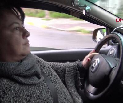 Avcılar'ın tek kadın taksi şoförü