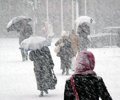Hava durumu 13 Ocak: Doğu için kırmızı alarm: Kuvvetli kar yağışı uyarısı!