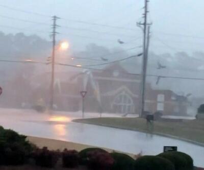 ABD'de fırtına ve kasırga