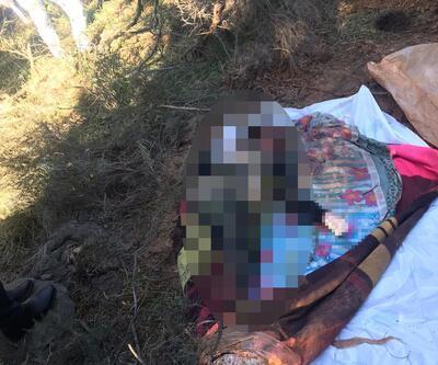 Ormanda vahşet; battaniyeye sarılı kadın cesedi bulundu