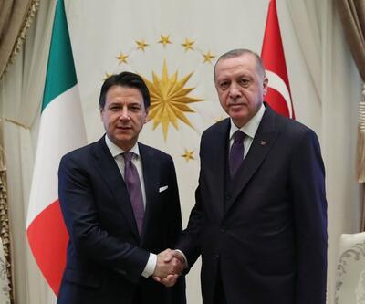 Son dakika: Cumhurbaşkanı Erdoğan, Conte'yi kabul etti