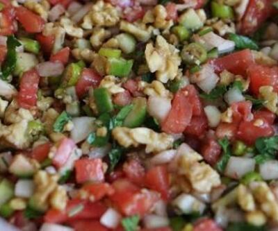Gavurdağı salatası nasıl yapılır? İşte Gavurdağı salatası malzemeleri