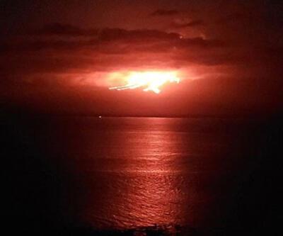 Galapagos Adaları'ndaki La Cumbre Yanardağı'nda patlama