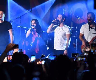 MaNga konserinde büyük sürpriz