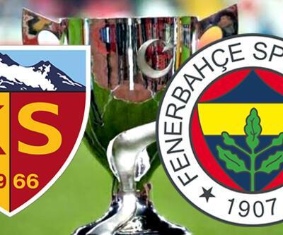 Kayserispor Fenerbahçe maçı ne zaman, saat kaçta, hangi kanalda? Türkiye Kupası