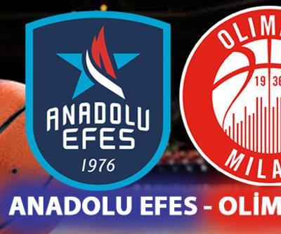 Anadolu Efes Olimpia Milano maçı ne zaman, saat kaçta, hangi kanalda?
