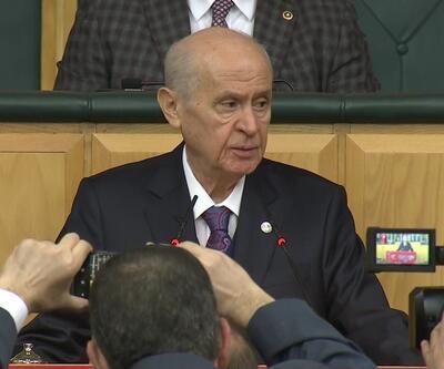 MHP lideri Bahçeli konuştu