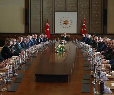 Cumhurbaşkanı Erdoğan, TFF ve Kulüpler Birliği'ni kabul etti