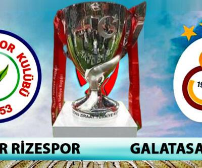 Çaykur Rizespor Galatasaray maçı hangi kanalda, saat kaçta? (Türkiye Kupası)