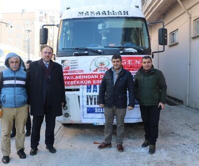 İstanbul'dan Yüksekova'ya iyilik TIR'ı