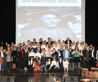 Ortaokul öğrencileri Aşık Veysel'i andı
