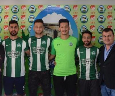 Serik Belediyespor'dan 4 transfer