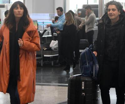 Sıla ve eşi Hazer Amani balayına Roma'ya gitti