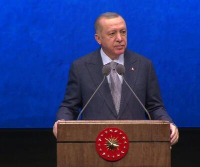 Cumhurbaşkanı Erdoğan'dan 2019 Yılı Değerlendirme Toplantısı'nda konuşuyor