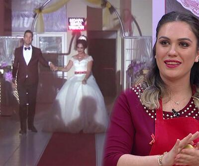 Aleyna'nın düğününden özel anlar