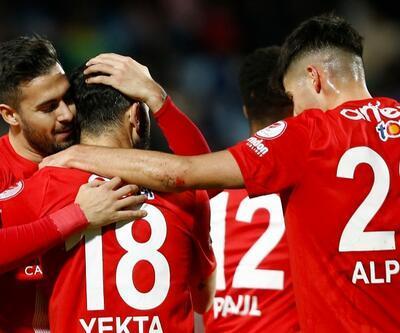 Antalya'da 7 gollü müthiş maç