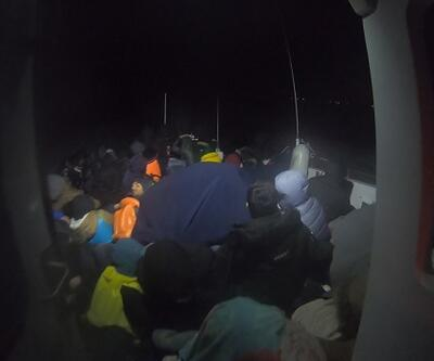 70 kaçak göçmen Çanakkale açıklarında yakalandı