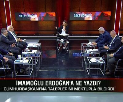 Eşler siyasi mesaj mı verdi? İmamoğlu Erdoğan'a ne yazdı? İmamoğlu'nun asıl hedefi ne? Gece Görüşü'nde konuşuldu