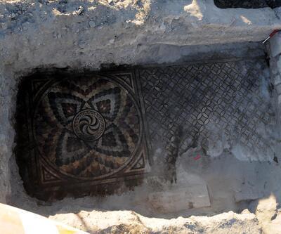 10 yıl önce bulunan mozaik gün yüzüne çıkıyor