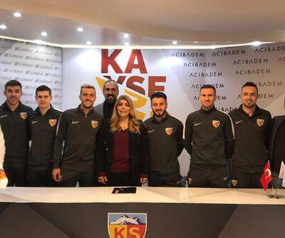 HES Kablo Kayserispor 6 futbolcuya imza attırdı