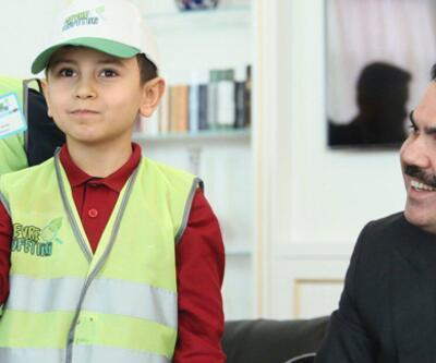 Bakan Kurum, çevre dostu Ahmet ile görüştü