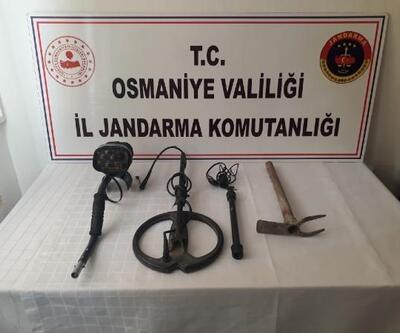 Düziçi'nde kaçak kazı operasyonu: 1 gözaltı