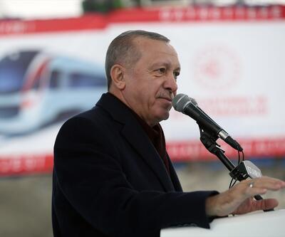 Cumhurbaşkanı Erdoğan Gayrettepe-İstanbul Havalimanı Metro Projesi İlk Ray Kaynağı Töreni'nde konuştu