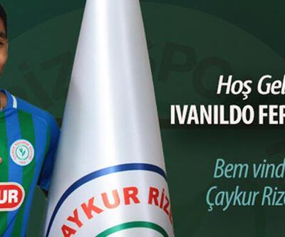 Ivanildo Fernandes Çaykur Rizespor'da