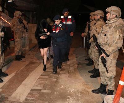 Fuhuş çetesine yönelik operasyon: 71 gözaltı