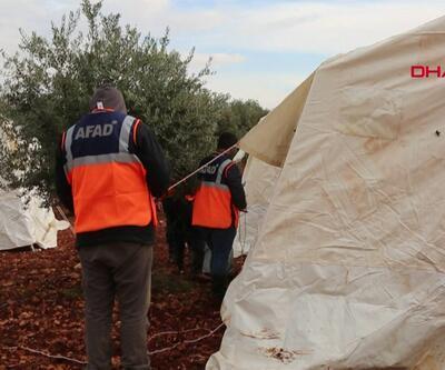 AFAD'dan suriyeliler için 9 kamp