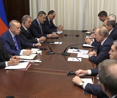Son dakika... Berlin'de Erdoğan-Putin görüşmesi sona erdi