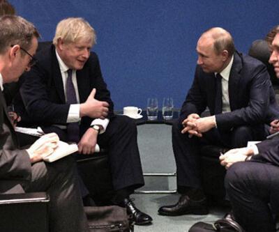 Johnson ve Putin Berlin'de bir araya geldi