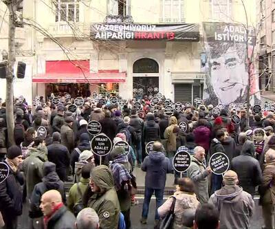 Hrant'ın Arkadaşları 13'ncü kez katledildiği yerde