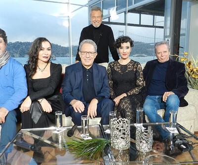 Zülfü Livaneli, Rengim Gökmen, Teyfik Rodos, Zeynep Halvaşi ve Görkem Ezgi Yıldırım, Şeffaf Oda'ya konuk oldu