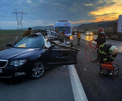 Gaziantep'te feci kaza! Baba-oğul hayatını kaybetti