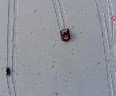 VEDAŞ'ın karla mücadelesi