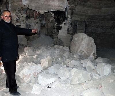 Kaya kiliseyi, defineciler talan etti