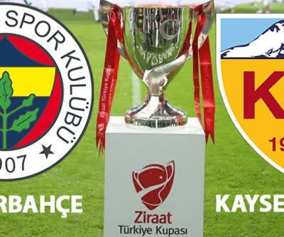 Fenerbahçe Kayserispor kupa maçı hangi kanalda, saat kaçta canlı izlenecek?